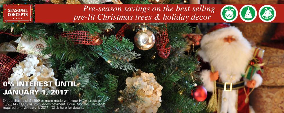 Pre-Season Savings