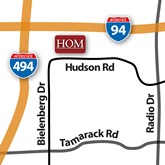 Woodbury, MN HOM Furniture Location